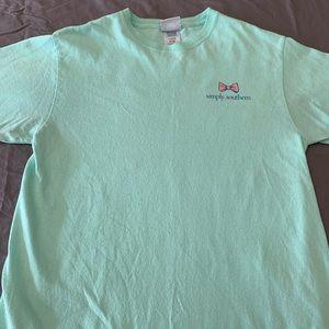 Simply Southern women's crab t-shirt.